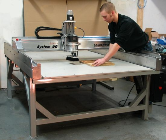 Cnc Router Table >> Larken System 60 Cnc Router System